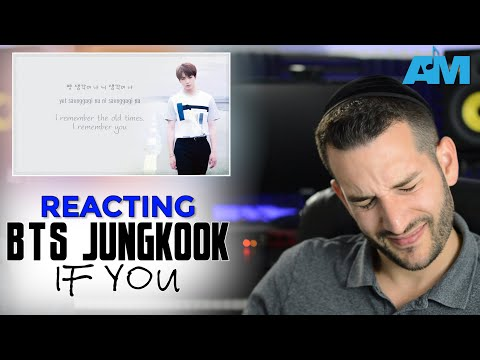 VOCAL COACH reacts to JUNGKOOK (BTS) singing IF YOU