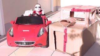 Mein Ferrari California driftet / Feber Kinder Elektroauto / Peg Perego