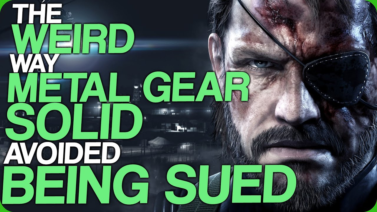 The Weird Way Metal Gear Solid Avoided Being Sued (Fact Fiend Finally have a Sponsorship)