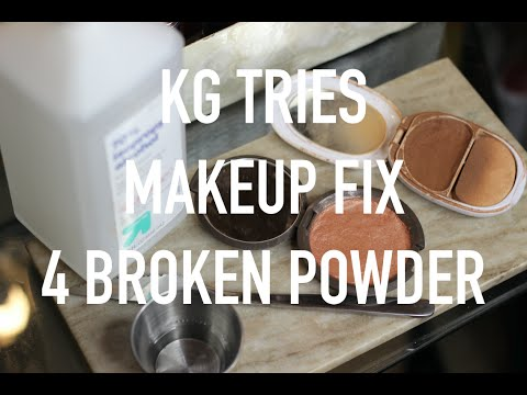 How To: Fix Broken Powder Makeup | beauty