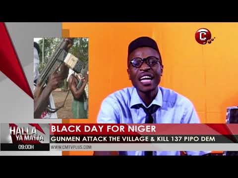 Black day for Cameroon and Niger | We prayer for Mbonge people and plenty news dem
