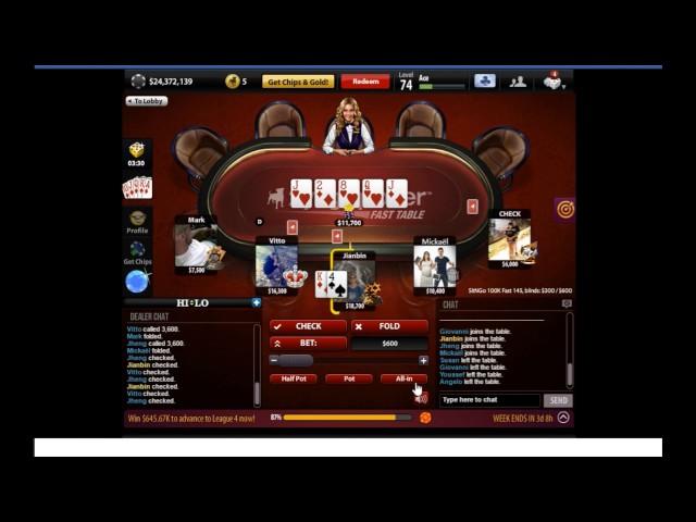 Poker Tournament #4 ????