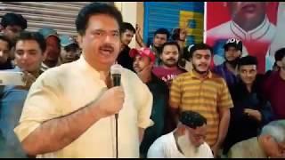 NA-246: Nabil Gabol Speech in Lyari Along District South Khalil Hoath