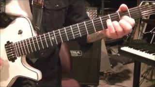 How to play Flying High Again by Ozzy Osbourne on guitar by Mike Gross