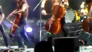 Apocalyptica - I Don't Care - 7th Symphony World Tour Monterrey 2012