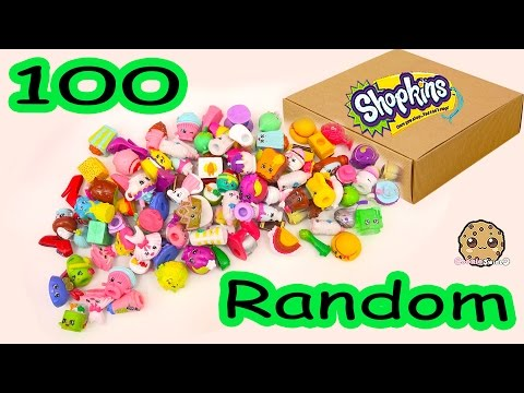 MEGA Large Random Package Lot of 100 Shopkins Season Exclusives - Toy Unboxing Video Cookieswirlc