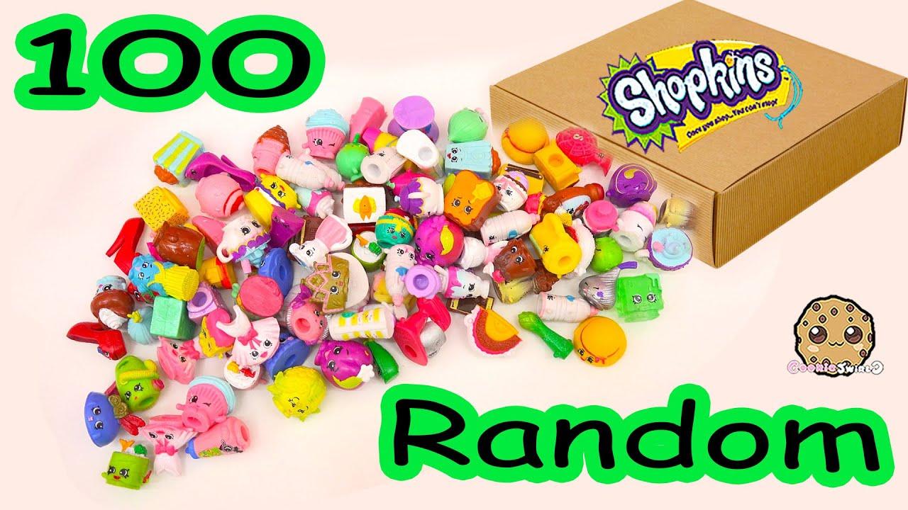 MEGA Large Random Package Lot Of 100 Shopkins Season Exclusives