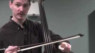 Double Bass Lesson - Using Pop's Rosin
