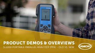 sl1000 portable parallel analyzer ppa old vs new