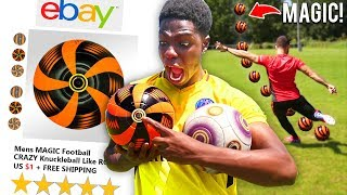 I Bought a MAGIC Football from EBAY & IT WORKED!! Play Like Messi, Ronaldo & Pogba