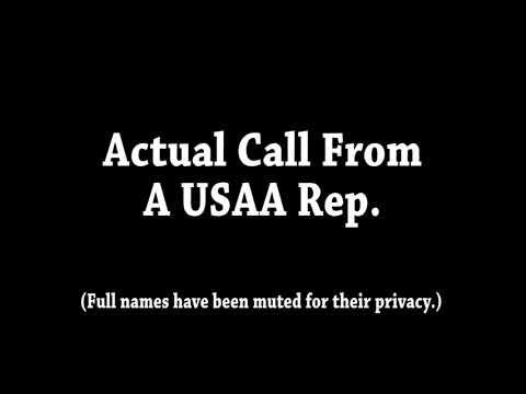 USAA call
