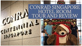 Conrad Centennial Singapore Hotel Review Room Tour Lobby Pool Gym