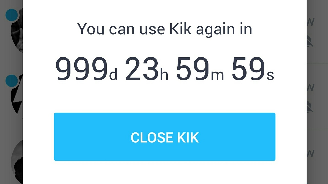 Sign into multiple kik accounts