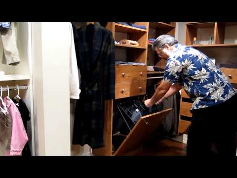 Closet Tilt out Hamper