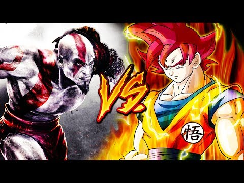 GOKU VS. KRATOS RAP EPIC (Dragon Ball Super & GOD OF WAR) Ft. BTH & MAYCOL