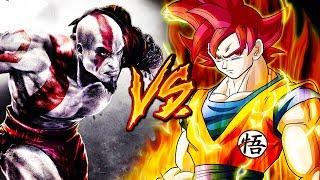 GOKU VS. KRATOS RAP EPIC (Dragon Ball Super & GOD OF WAR) Ft. BTH & MAYCOL