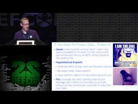 DEF CON 22 - Mark Stanislav & Zach Lanier - The Internet of Fails - Where IoT Has Gone Wrong
