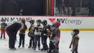 Rhythm's skating class