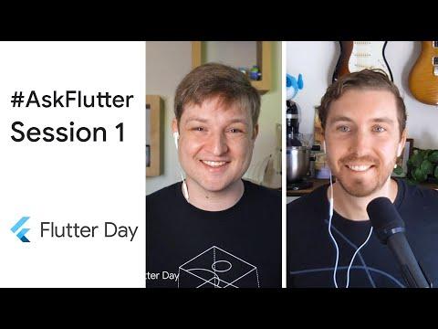 #AskFlutter at Flutter Day: Session 1