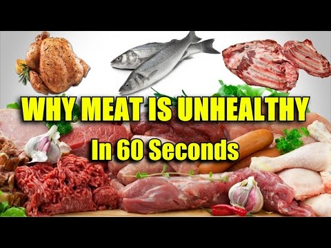 Why Meat Is Bad For You- In 60 Seconds