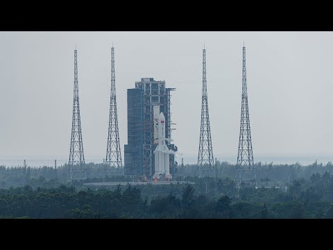 CGTN:Tianhe lifts off China's space station ambition