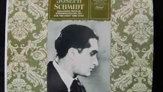 """Joseph Schmidt Massenet Le Cid """"Ah! tout est bien fini...O Souverain!..O Pere"""