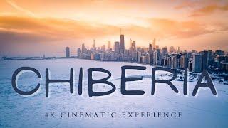 ARCTIC CHICAGO - Polar Vortex 2021 and Winter Snow Storm - Drone Footage