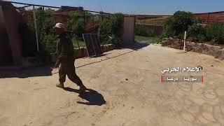Война в Сирии. Дараа. Видео с захваченных позиций боевиков