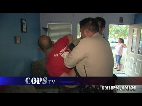 Hold Me Back Bro, Officer Corie Rapp, COPS TV SHOW