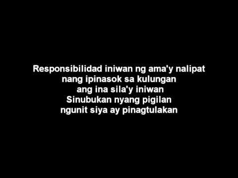 Gloc 9 feat. Noel Cabangon - Bayad Ko Lyrics