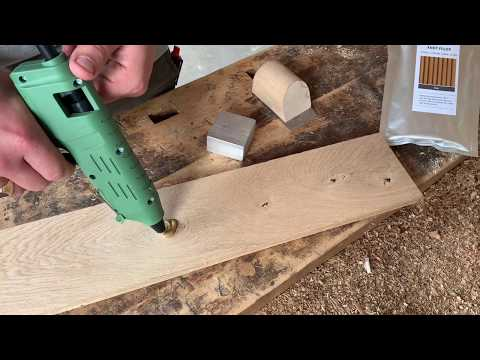 Knot Filler - Easy wood repair with Knot Filler