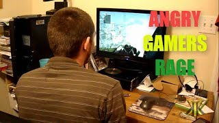 Angry Gamers Ruined Thier LED TV, PC, Console and Other Room Stuff Compilation  2017