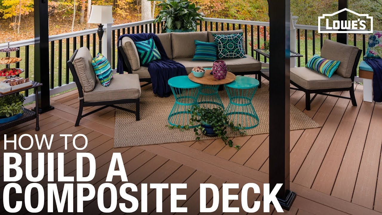 Learn How To Build A Deck With Composite Decking Material