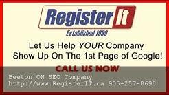Best Toronto SEO Company Beeton ON - 905-257-8698