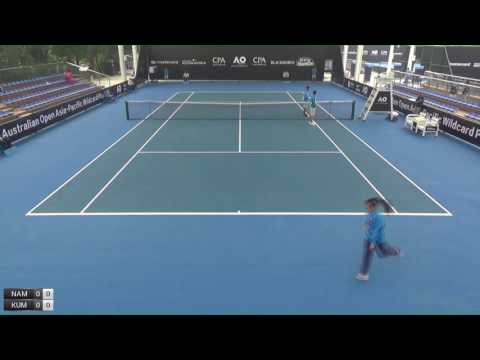 Australian Open Asia-Pacific Wildcard Play-off - Court 3 - Day 4