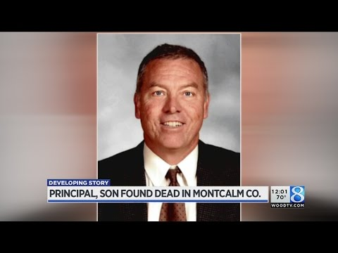 Future superintendent, son found dead in Montcalm County
