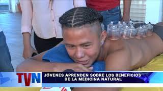 JÓVENES APRENDEN SOBRE LOS BENEFICIOS DE LA MEDICINA NATURAL