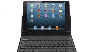 iPad mini Case Review_ Belkin Portable Keyboard Case for iPad mini