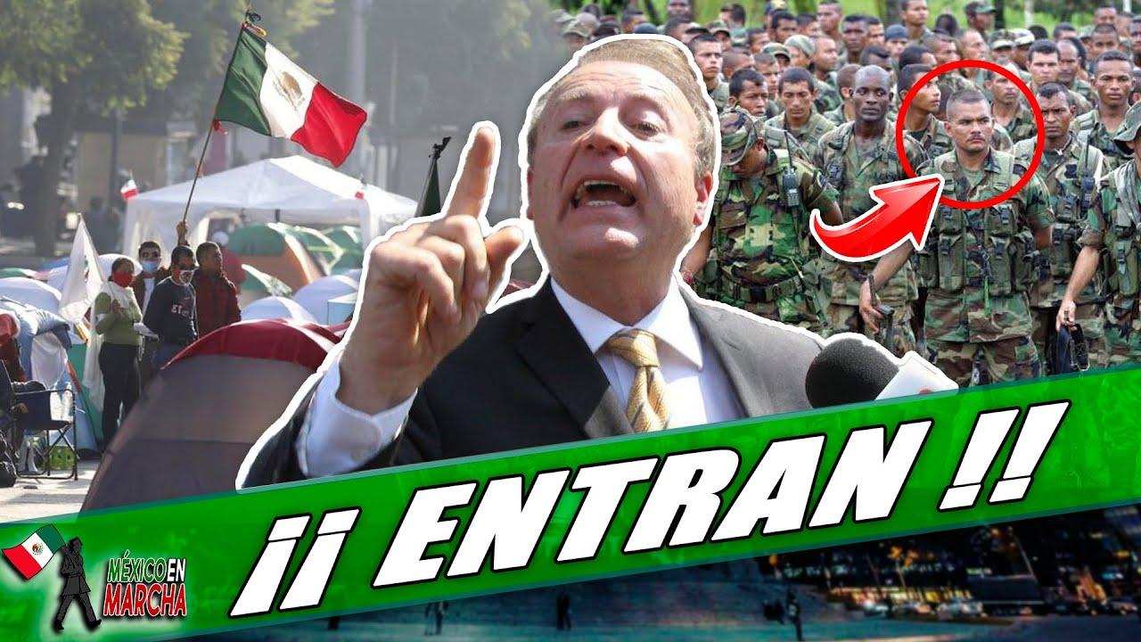 Usan Paramilitares Y Suplantan A La ONU!! Frena Busca Ingresar Con Engaños A Palacio Nacional!!