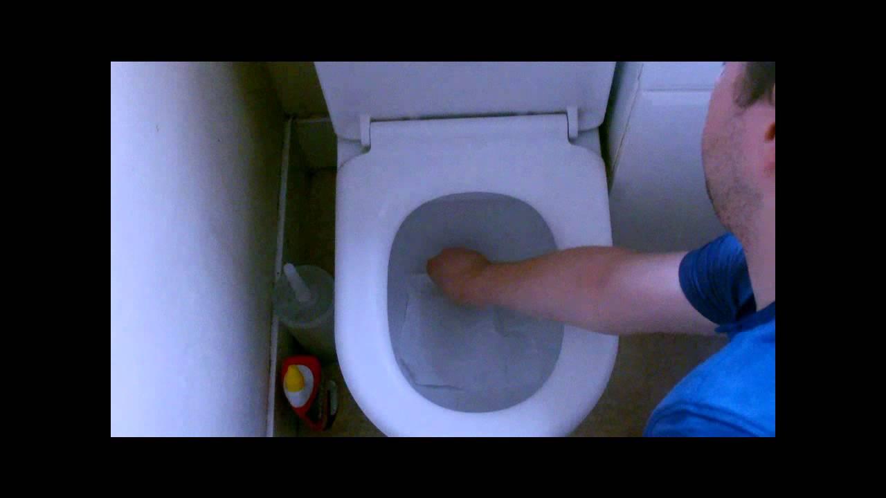 Toilet Splashback Stoppers - YouTube