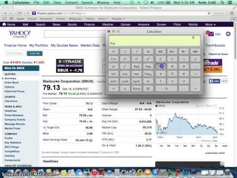 VIDEO 2  YAHOO FINANCE   STOCK PRICE DATA BETA, MARKET CAP, DIVIDEND YIELD