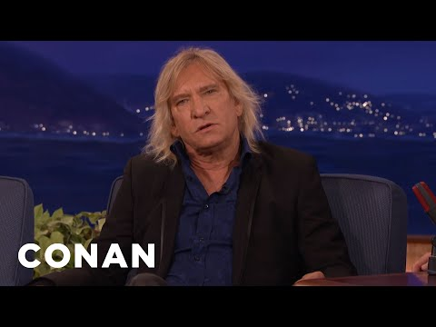 That Time Joe Walsh & John Belushi Trashed A Penthouse   CONAN on TBS