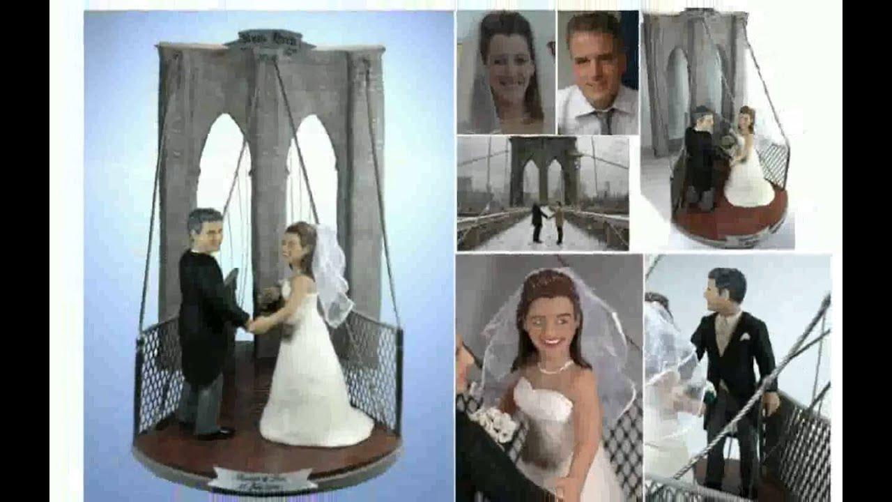 Hochzeitstorte Figuren - YouTube