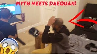 MYTH MEETS DAEQUAN IN REAL LIFE! (Fortnite Stream Highlights)