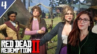 Taking the Girls to Town with Uncle | Red Dead Redemption 2 Pt. 4 | Marz Plays