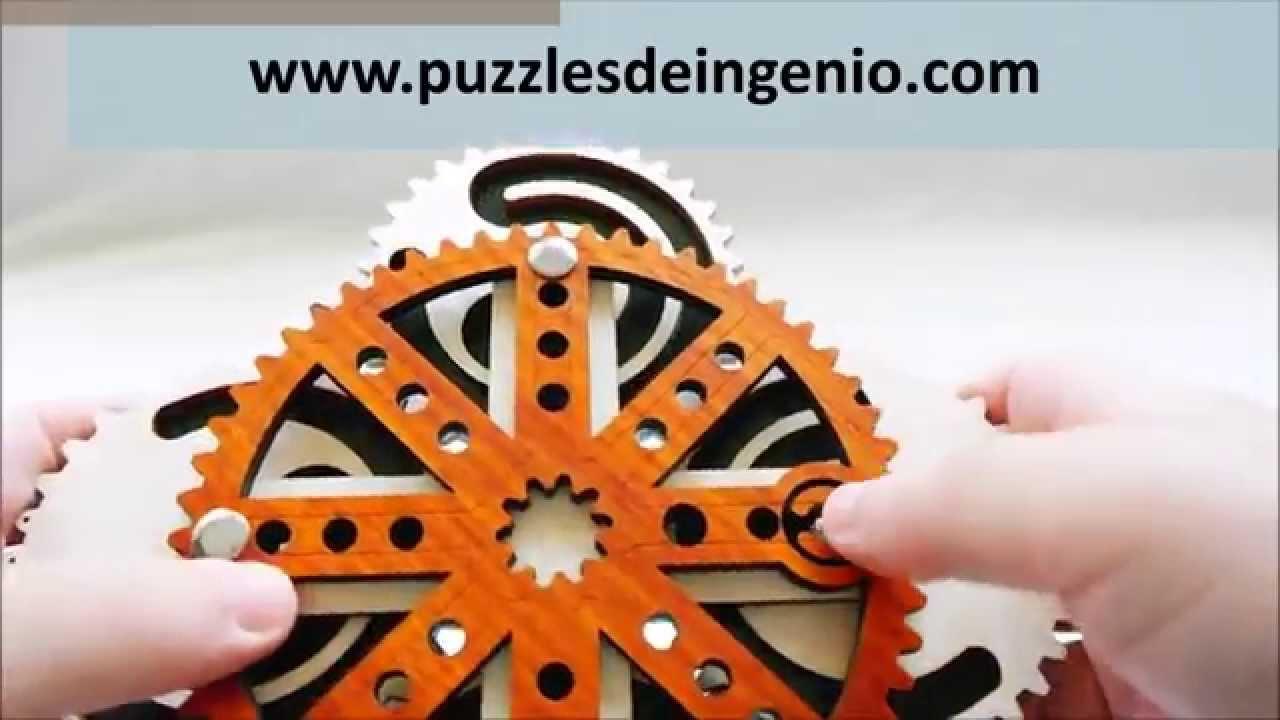Demo Puzzle Uhrwerk Jean Claude Constantin