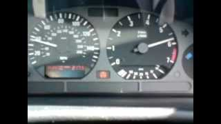 BMW E36 325i 2.5l auto Saloon Kick Down 20 - 85mph
