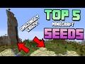 AMAZING MINECRAFT SEEDS 1.13 with Coordinates!! Best Minecraft Survival Seed!