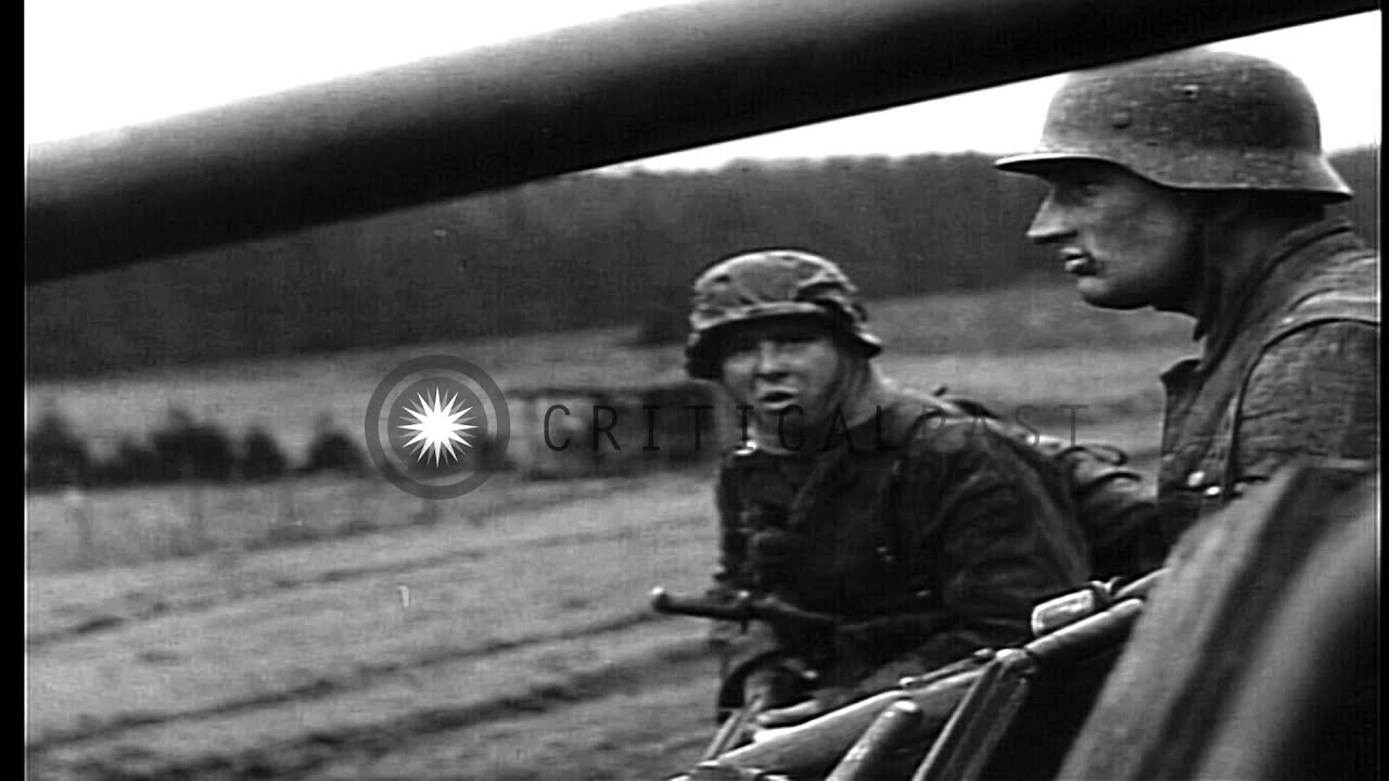 German Ardennes offensive scenes during Battle of the Bulge in World War II...HD  Stock Footage - YouTube