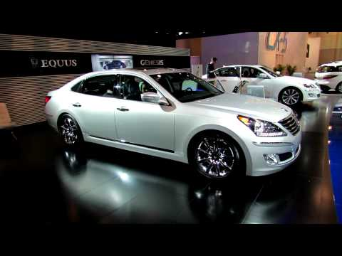 2012 Hyundai Equus Exterior and Interior at 2012 Toronto Auto Show